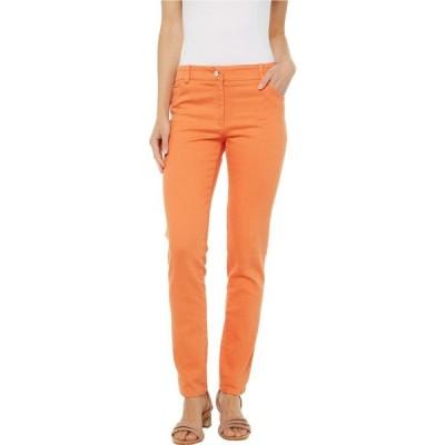 エリオットローレン Elliott Lauren レディース ジーンズ・デニム ボトムス・パンツ Stretch Denim Five-Pocket Jeans in Orange Orange
