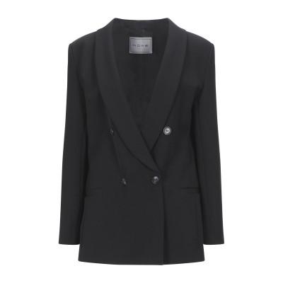 ホープ HOPE テーラードジャケット ブラック M レーヨン 68% / ナイロン 27% / ポリウレタン 5% テーラードジャケット