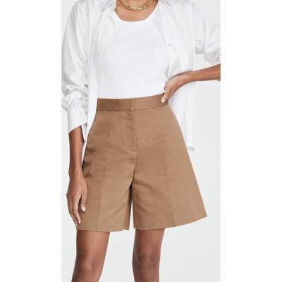 ヴィクトリア ベッカム Victoria Victoria Beckham レディース ショートパンツ ボトムス・パンツ Tailored Shorts Fawn Brown