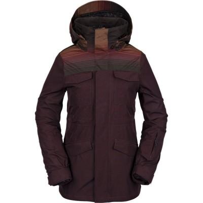 ボルコム Volcom レディース スキー・スノーボード ジャケット アウター leda gore-tex snowboard jacket Black Red