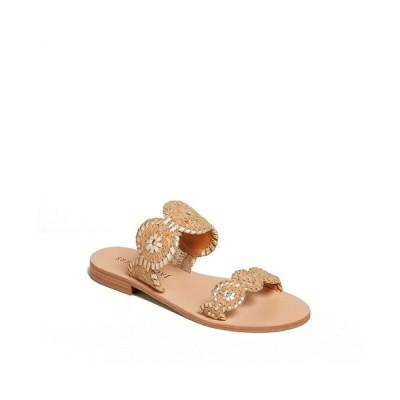ジャックロジャース サンダル シューズ レディース Women's Lauren Sandal Natural Gold-Tone Cork