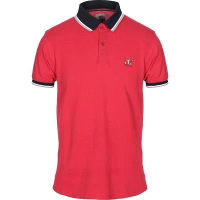 ヘンリーコットンズ HENRY COTTON'S メンズ ポロシャツ トップス polo shirt Red