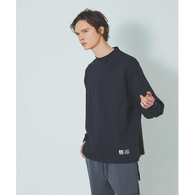 【アバハウス】 Russell/ラッセル ドローコード ロング Tシャツ メンズ ブラック 46 ABAHOUSE
