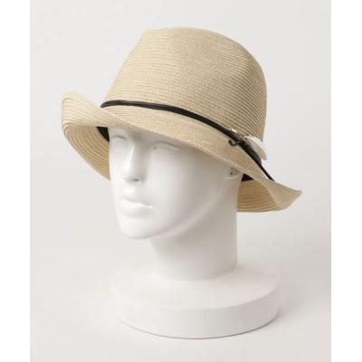 UNBILLION / カシュネ cache nez/ ピン付きハイバック中折れハット WOMEN 帽子 > ハット