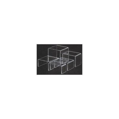 NDI0201 アクリルディスプレイ コの字展示台 30635 小小 :_