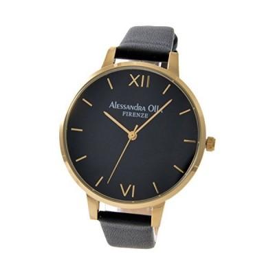 [アレサンドラオーラ] 腕時計 AO-25-10 レディース ブラック