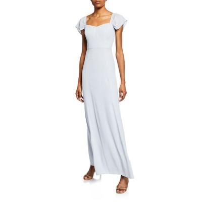 ワイフ レディース ワンピース トップス The Rachel Gored Maxi Gown