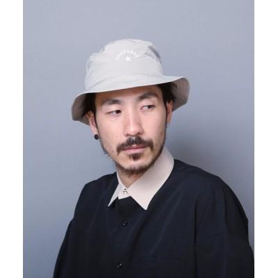 LB/S / 【CONVERSEコンバース】タフタバケットハット ワンポイントブランドロゴ刺繍 WOMEN 帽子 > ハット