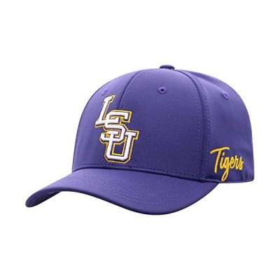 Top of the World Lsu Tigers Men's Fitted Hat Icon, Purple, One Fit