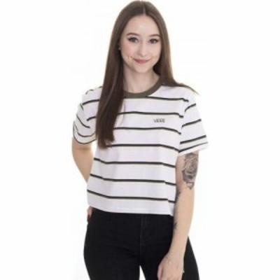 ヴァンズ Vans レディース Tシャツ トップス - Surf Supply Roll Out White - T-Shirt white