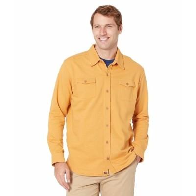 ノーマルブランド シャツ トップス メンズ Knit Workman Yellow