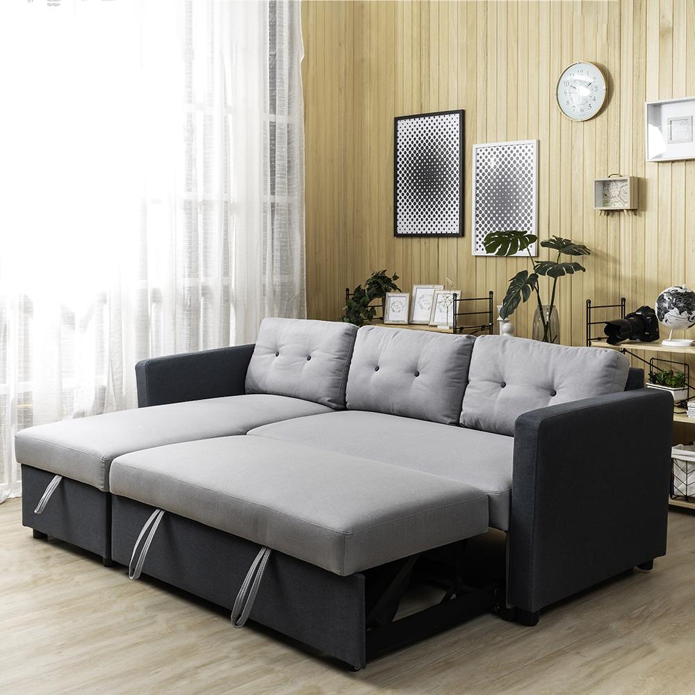 居品III防潑水L型沙發