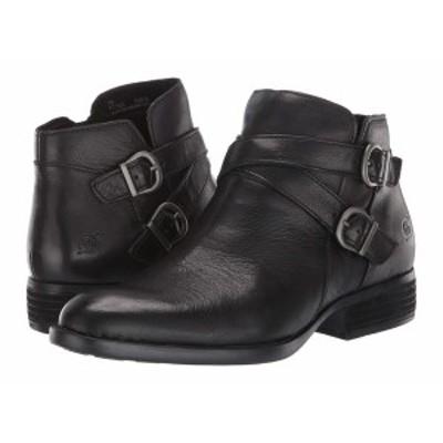 ボーン レディース ブーツ&レインブーツ シューズ Ozark Black Full Grain Leather