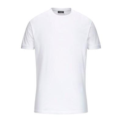 ディースクエアード DSQUARED2 アンダーTシャツ ホワイト M コットン 100% アンダーTシャツ