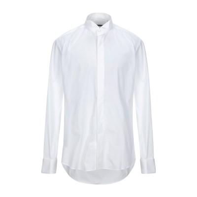 PAL ZILERI CERIMONIA シャツ ホワイト 42 コットン 100% シャツ