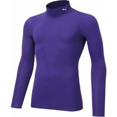 プーマ サッカー コンプレッション ジュニア モックネック LS インナーウェア 20Q1 14PRISMVIOL ケームシャツ・パンツ(656332-14)
