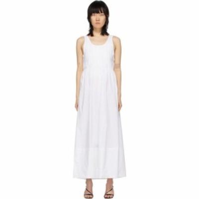 マークー Markoo レディース ワンピース ワンピース・ドレス white the pleated dress White