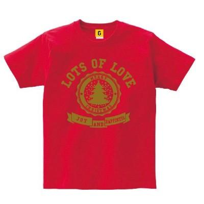 カレッジ風 クリスマスロゴTシャツ キッズサイズ X'mas パーティー GIFTEE ギフティー おもしろtシャツ メンズ レディース ギフト GIFTEE