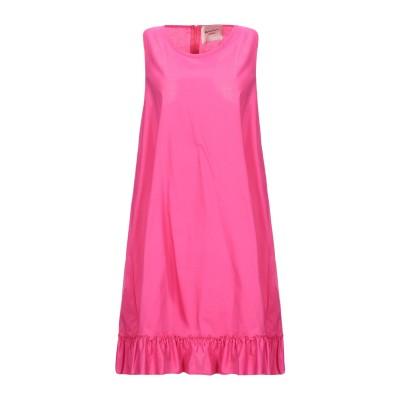 MARIUCCIA ミニワンピース&ドレス フューシャ XS コットン 95% / 指定外繊維(その他伸縮性繊維) 5% ミニワンピース&ドレス