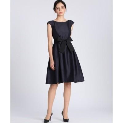 ドレス 《Maglie Black》グログランリボンドレス
