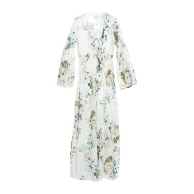 ドンダップ DONDUP ロングワンピース&ドレス アイボリー 42 コットン 100% ロングワンピース&ドレス