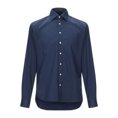 SEVENTY SERGIO TEGON シャツ ブルー 42 コットン 96% / ポリウレタン 4% シャツ