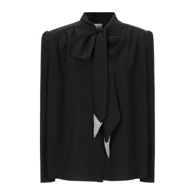 ジジル JIJIL シャツ ブラック 40 ポリエステル 89% / ポリウレタン 11% シャツ