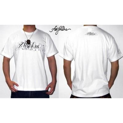 【AFO】 TRUMP SCRIPT Tシャツ 【白】【ゆうパケット配送対象商品】ティーシャツ