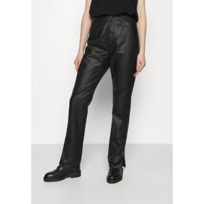 ミスガイデッド レディース カジュアルパンツ ボトムス SIDE SPLIT WRATH - Trousers - black black