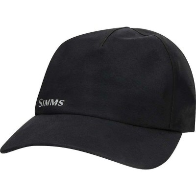 シムス Simms ユニセックス 帽子 GTX Infinium Rain Cap Black