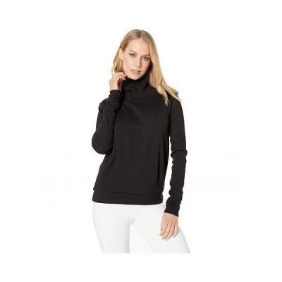 ALO エーエルオー レディース 女性用 ファッション パーカー スウェット Clarity Long Sleeve - Black
