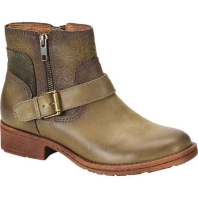 コンフォーティヴァ Comfortiva レディース ブーツ シューズ・靴 Sterns Bootie Pale Olive Smooth Leather