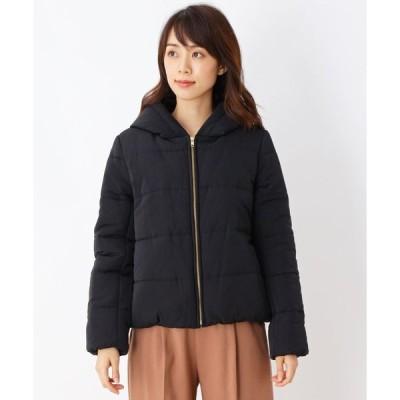 SHOO・LA・RUE/DRESKIP(シューラルー/ドレスキップ)【M-LLまで】グログラン中綿ジャケット
