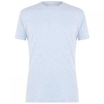 クリミナル Criminal メンズ Tシャツ トップス Basic T Shirt Light Blue