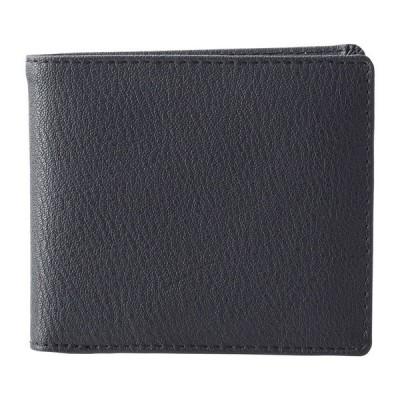 カンゴールS メンズ二ツ折札入(ブラック)S-KGE25037BK 財布・小物