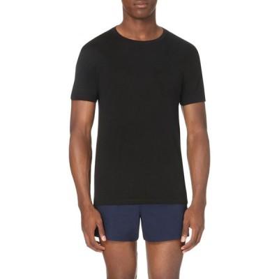 ラルフ ローレン POLO RALPH LAUREN メンズ Tシャツ トップス Two pack cotton round-neck tshirts BLACK
