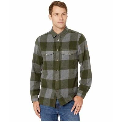 フェールラーベン シャツ トップス メンズ Canada Shirt Deep Forest
