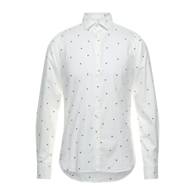 LIBERTY ROSE シャツ ホワイト 40 コットン 100% シャツ