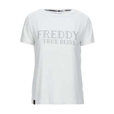 フレディ FREDDY T シャツ ホワイト XS レーヨン 92% / ポリウレタン 8% T シャツ