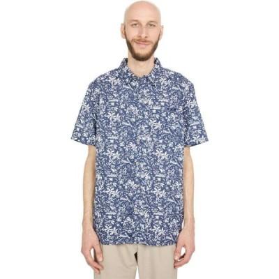 コロンビア Columbia メンズ シャツ トップス Super Slack Tide(TM) Camp Shirt Collegiate Navy Kona Print