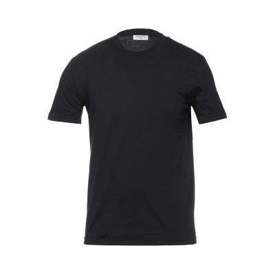 WOOL & CO T シャツ ブラック L コットン 100% T シャツ