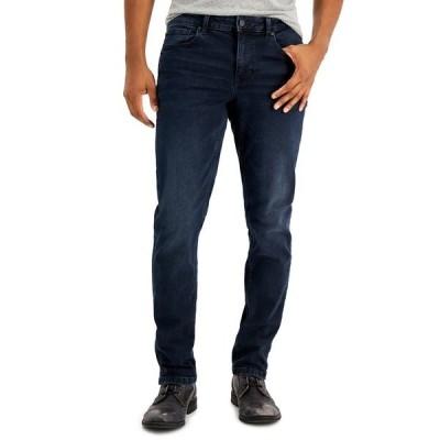 ダナ キャラン ニューヨーク デニムパンツ ボトムス メンズ Men's Bedford Slim, Straight Jeans Blue Black