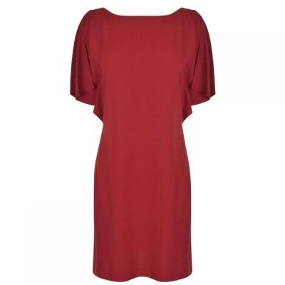 セオリー THEORY レディース ワンピース ワンピース・ドレス Andzelika Dress Crimson Red