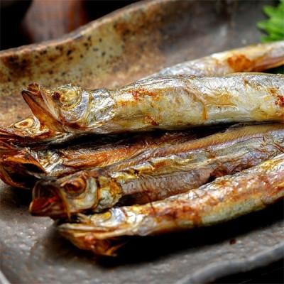 ししゃも 北海道産 柳葉魚 希少な本物 天然 本 シシャモ オス 30尾