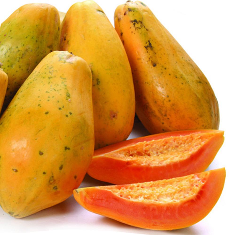 免運 【果之家】香甜紅肉木瓜5台斤1箱(約3-5顆)