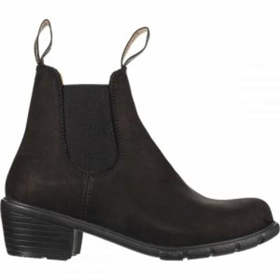ブランドストーン Blundstone レディース ブーツ シューズ・靴 500 Series Original Heel Boot Black Nubuck