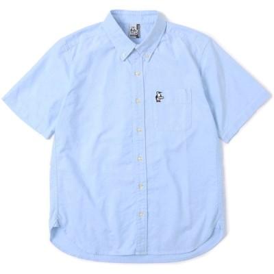 CHUMS チャムス チャムスオックスショートスリーブシャツ メンズ CHUMS OX S/S Shirt 半袖 トップス