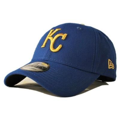 ニューエラ ストラップバックキャップ 帽子 NEW ERA 9forty メンズ レディース MLB カンザスシティ ロイヤルズ bl