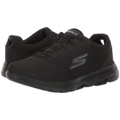 スケッチャーズ SKECHERS Performance メンズ スニーカー シューズ・靴 Go Walk 5 - Qualify Black