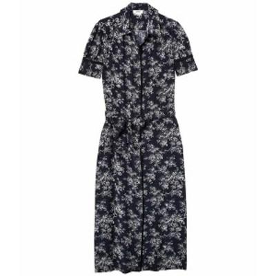 ジェイソンウー レディース ワンピース トップス V-Neck Shirtdress Dark Navy Multi